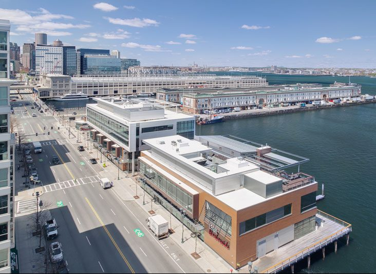 Thumbnail of commercial real estate buildings on a pier in Boston