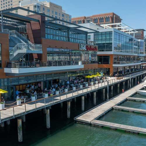 Legal Harborside restaurant in Boston Seaport